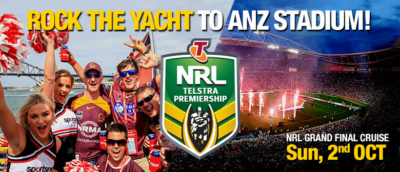 NRL Grand Final Rock the Yacht