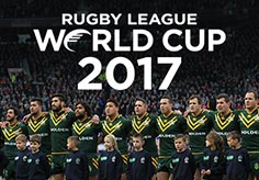 Rugby League World Cup 2017 banner