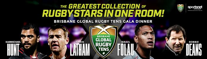 2017 Brisbane Global Rugby Tens Gala Dinner • Sportsnet Holidays