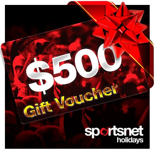 Sportsnet Holidays Gift Voucher Sample