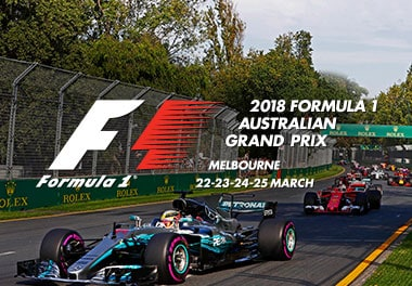 2018 Australian F1® travel packages • Sportsnet Holidays