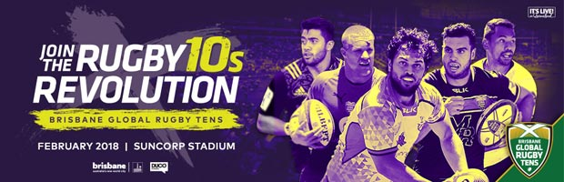 Brisbane Global Rugby Tens 2018 banner