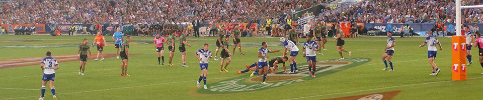 Rugby League Players at the NRL Grand Final - 2018 NRL Grand Final Travel Packages & Deals