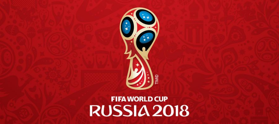 """alt=""""Rugby World Cup 2018 Banner image, red background showing fifa world cup trophy"""""""
