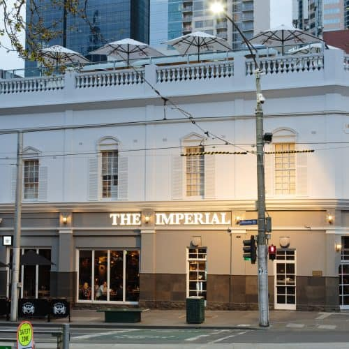 Imperial Hotel Melbourne Credit: https://www.dimmi.com.au/restaurant/imperial-hotel-bourke-st
