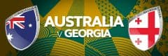 Australia vs Georgia - Rugby World Cup 2-19, Japan • Sportsnet Holidays