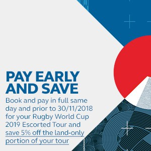 RWC 2019 - Tours - Pay Early and Save - Mobile