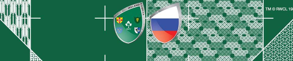 Rugby World Cup 2019 Irland vs Russia