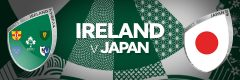 Ireland v Japan - Rugby World Cup 2019, Japan • Sportsnet Holidays