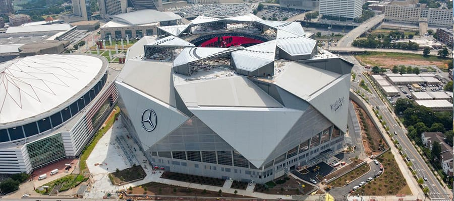2019 super bowl liii 53rd travel packages tours for Mercedes benz stadium atlanta hotels