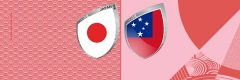 Rugby World Cup 2019 Japan vs Samoa