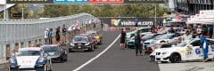"alt=""Bathurst 12 Hour pitstop with supercars getting ready for Bathurst 12 Hour"""