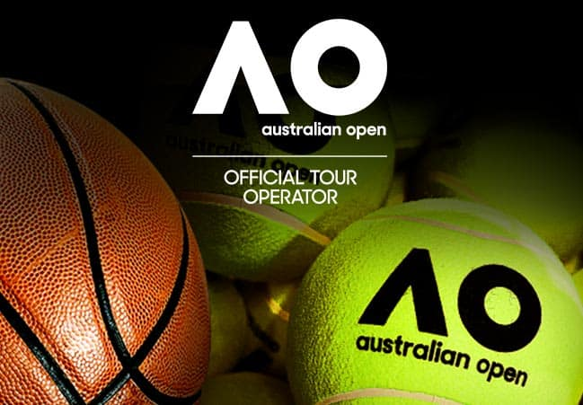 Aus Open 2020 Quarterfinals and Semifinals package box