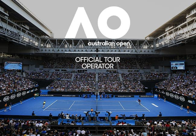 Aus Open 2020 Middle Weekend (RLA) package box