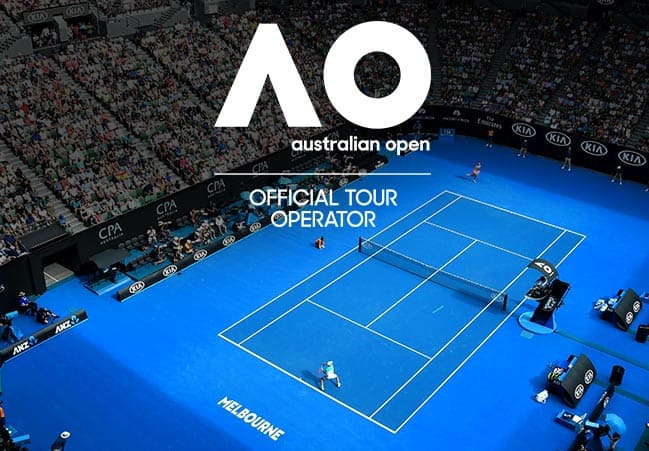 Aus Open 2020 Middle Weekend (Sportsnet Super Suite) package box