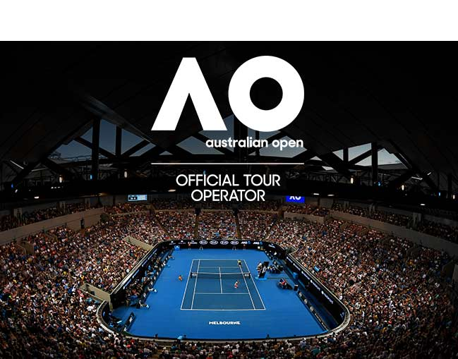 Aus Open 2020 First Week (Super Suite) package box