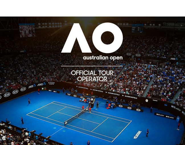 Aus Open 2020 Semifinals package box