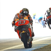 "alt=""Motorcycle Rider racing at the 2019 Japan MotoGP staged at Twin Ring Motegi"""