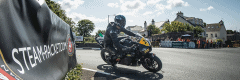 """alt=""""Rider at the Isle of Man turning - Isle of Man TT 2019 Travel Packages"""""""