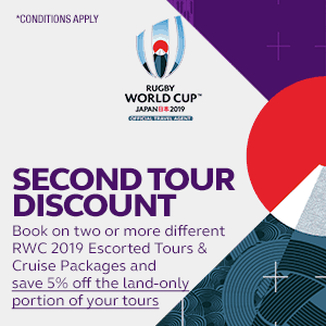 RWC 2019 - Tours -Second Tour Discount