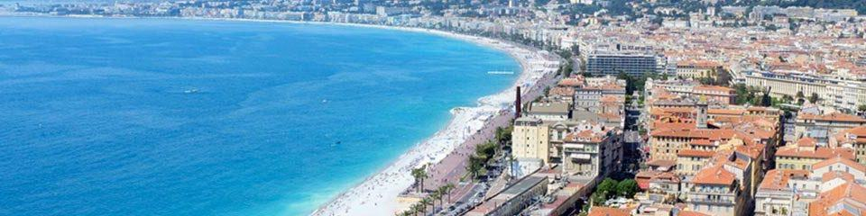 "alt=""Birds eye view of Nice, France - Monaco Grand Prix 2019 Travel Packages & Deals"""
