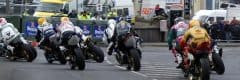"""alt=""""Group of riders turning the corner at the North West 200 - 2019 North West 200 Travel Packages & Deals"""""""