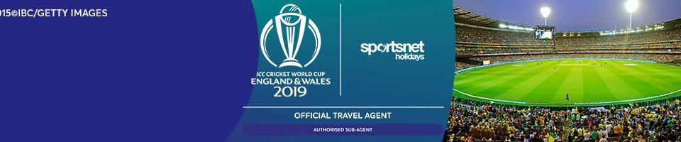 ICC Cricket World Cup 2019 • Sportsnet Holidays