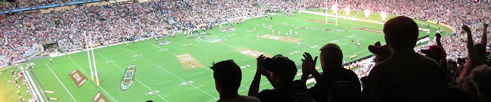 Landscape picture of people at ANZ Stadium - 2019 NRL Grand Final Travel Packages & Deals