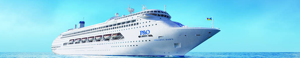 Landscape view of P&O's Pacific Dawn Cruise - 2019 Darwin Cup Carnival - 14 Night Cruise Packages