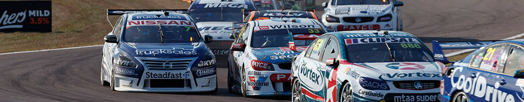 Supercars racing at the Darwin Triple Crown - 2019 BetEasy Darwin Triple Crown 5 Night Packages