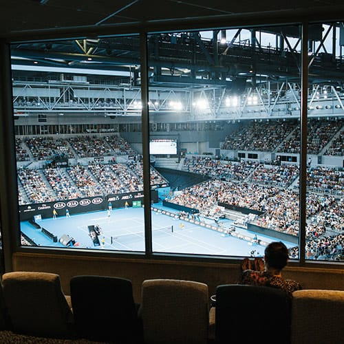 Sportsnet Super Suite View • Australian Open 2019