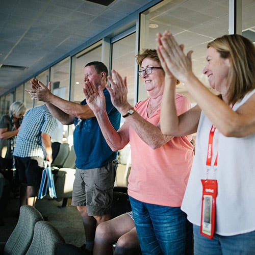 Sportsnet Super Suite Crowd • Australian Open 2019