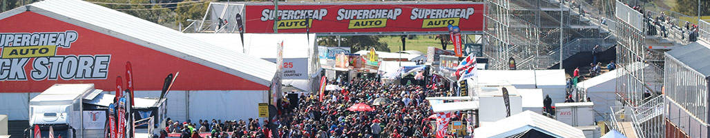 Bathurst 1000 Crowd - 3 Night 'Tent' City Packages 2019 Bathurst 1000 Travel Packages & Deals