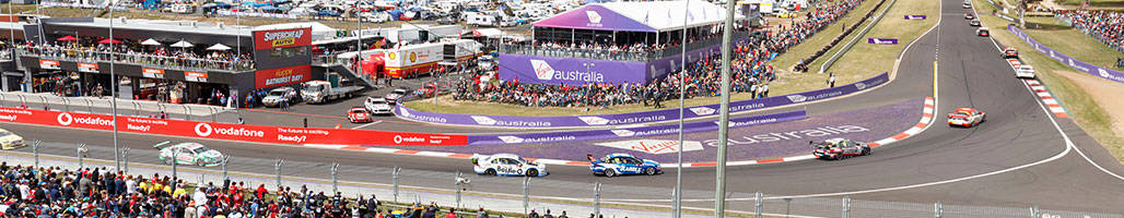 Landscape view of Mt Panorama - 4 Night 'Tent' City Packages 2019 Bathurst 1000 Travel Packages & Deals