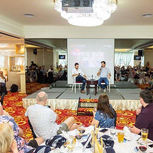 6th Annual F1 Singapore Grand Prix Lunch 2019