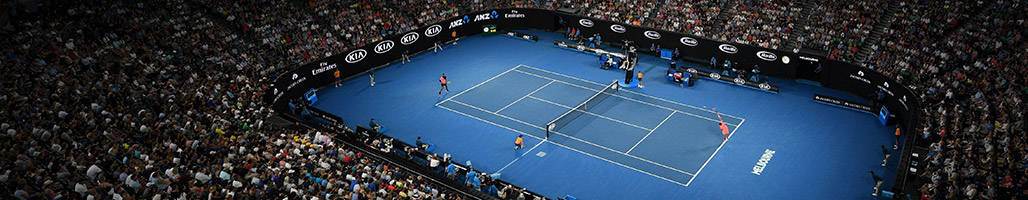Tennis players competing at Rod Laver Arena - Final Five Sessions Package - Australian Open 2020 - Sportsnet Holidays