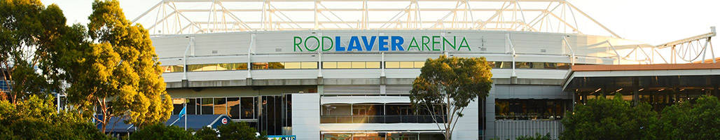 Landscape view of Rod Laver Arena - Middle Weekend Package - Australian Open 2020 • Sportsnet Holidays