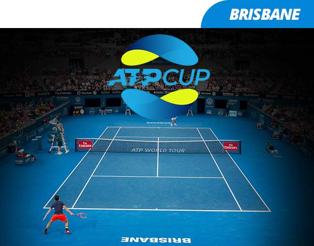 ATP Cup 2020 - Brisbane Group Stage package