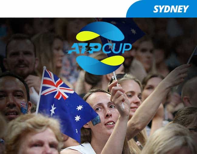 ATP Cup 2020 - Sydney Mix and Match package