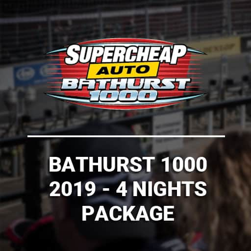 Bathurst 1000 2019 4 Night Packages