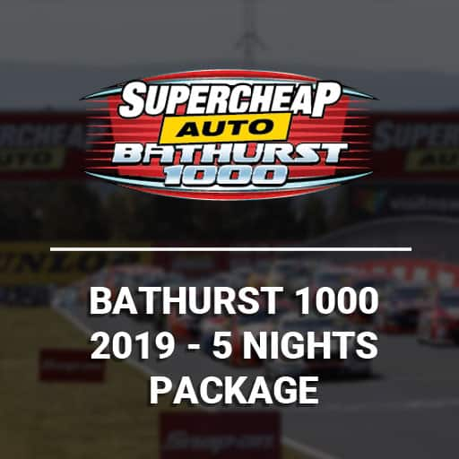 Bathurst 1000 2019 5 Night Packages