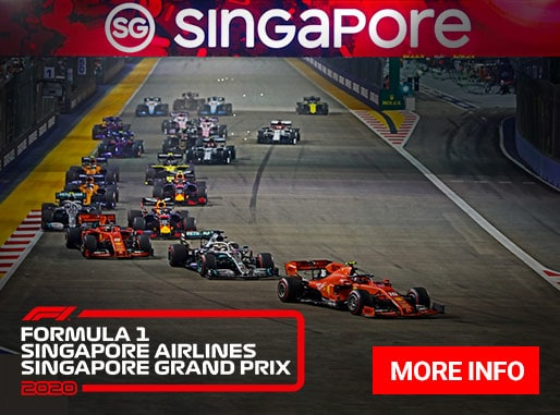 2020 Singapore Formula 1 Grand Prix packages