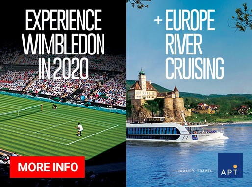 2020 Wimbledon Championships with APT River Cruise