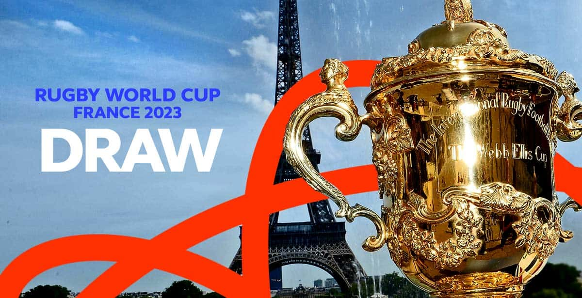 Rugby World Cup 2023 France Travel Pool Draw