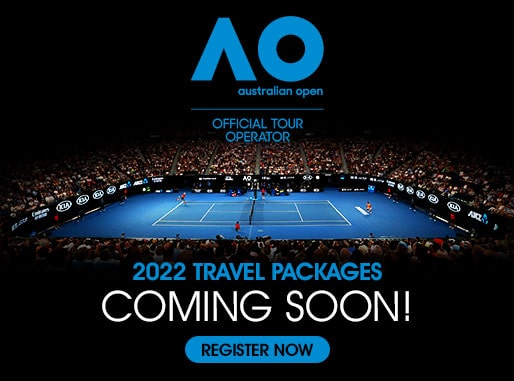 2022 Australian Open Travel Package