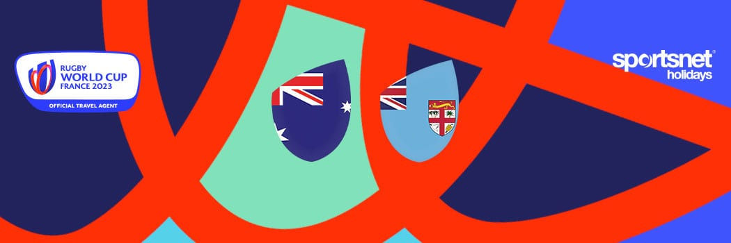 Rugby World Cup 2023 Travel Packages Australia x Fiji Match