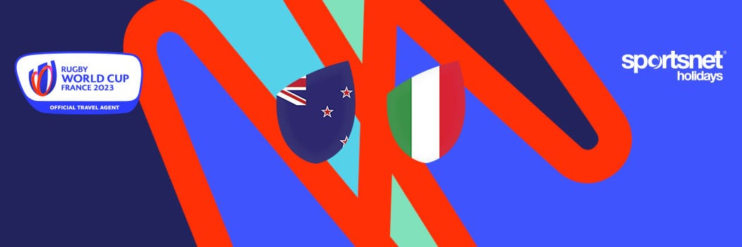 Rugby World Cup 2023 Travel Packages New Zealand x Italy Match