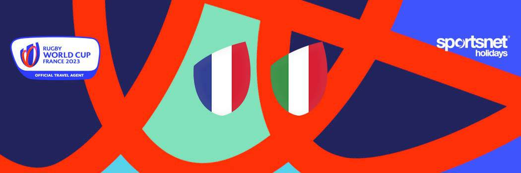 Rugby World Cup France 2023 Match Break France v Italy Sportsnet Travel Package