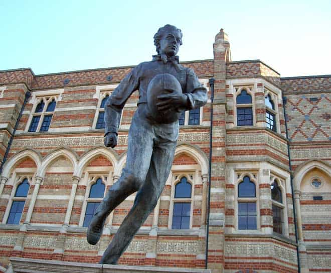 Who is Webb Ellis of Rugby World Cup
